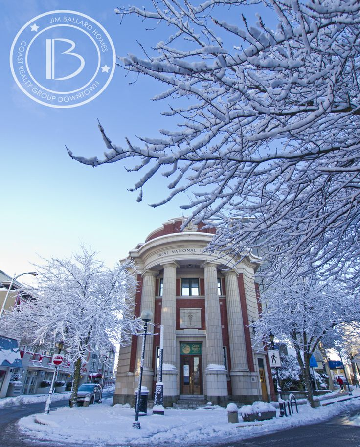 #Nanaimo's Historical National Land Trust Building. Celebrating it's 100th Anniversary this year. Proud home of Coast Realty Group Downtown & Jim Ballard Homes. #Nanaimo. #VancouverIsland #Architecture