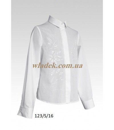Школьная форма Sly (Польша) - Школьная блузка Sly 123 в интернет-магазине wladek.com.ua
