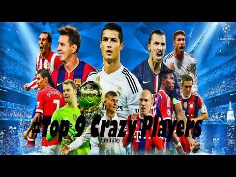 Top 9 Crazy Players In The World  All Sports Update
