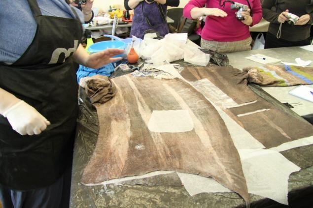 """Светлана Болюх. Семинар""""Арт-войлок из флиса, волокон и натуральной шерсти на примере короткой куртки - Ярмарка Мастеров - ручная работа, handmade"""