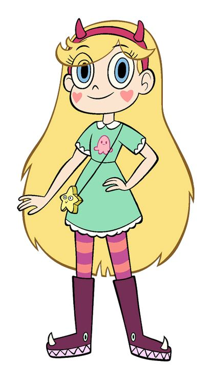 Star Butterfly is the protagonist of the Disney Channel and Disney XD's animated series Star vs. the Forces of Evil. Star Butterfly is an intergalactic princess from the Kingdom of Mewni, who has been sent to Earth by her parents to live a normal life, after many years of fighting evil in space. While on Earth, she lives with the Diaz family, and takes Marco Diaz on adventures in other dimensions, and in battles with monsters.