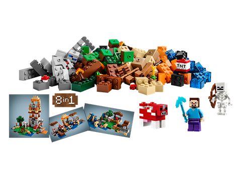 minecraft lego instructions 21113