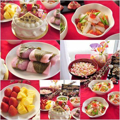 ひなまつり 料理 美味しいレシピ(作り方)・料理の画像検索