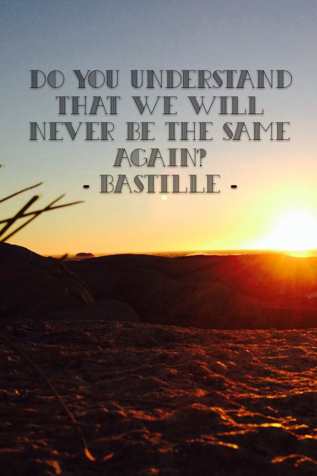 bastille - things we lost in the fire prevod