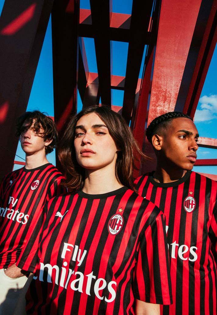 68e92876 PUMA Launch AC Milan 2019/20 Home Shirt - SoccerBible | Football ...