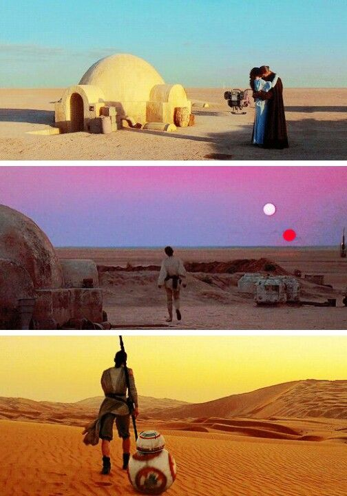 Skywalker family parallels!#starwars