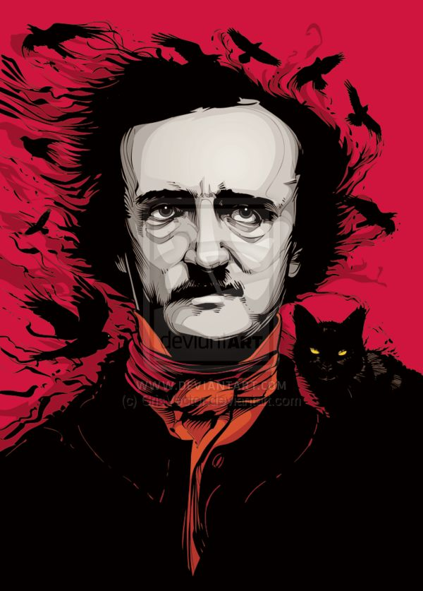 "(Not a book but one of the favorite writers!) ""Edgar Allan Poe""  by `CrisVector (http://www.crisvector.com/)  More info here: http://crisvector.deviantart.com/art/Edgar-Allan-Poe-214659580?q=boost%3Apopular%20in%3Adigitalart%2Fvector%20max_age%3A744h&qo=14"