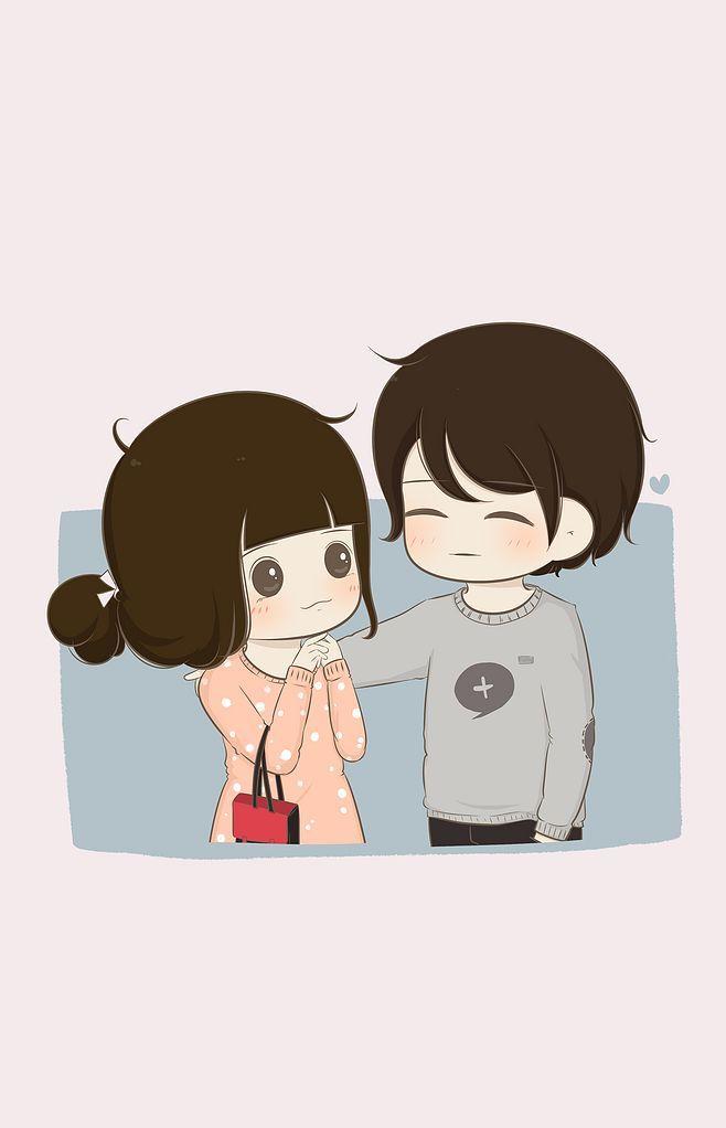 Girl Boy Kiss Wallpaper Pin By Ps Shekhawat On Cartoon Couples Cute Love