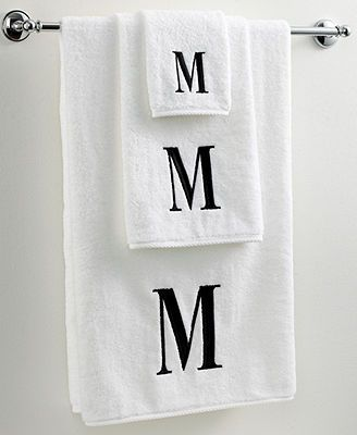 Best Monogram Towels Ideas On Pinterest Embroidered Towels - Monogrammed bath towels for small bathroom ideas