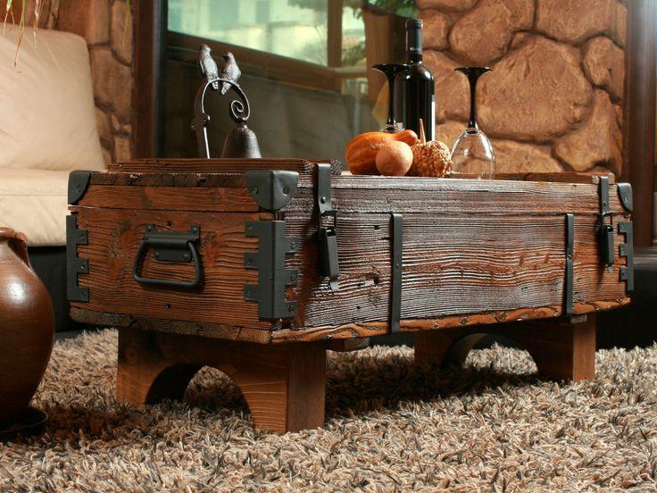 Holztruhe Tisch details zu alte truhe kiste tisch shabby chic holz beistelltisch