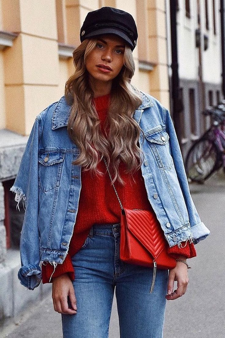 Diese Influencer lieben die NA-KD Jeansjacke! #jeans #denim #denimjacket
