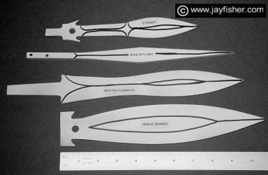 Hidden Tang Daggers, High Art Knives, Collectors Knives, Fantasy Knives, Double Edged Daggers, handmade, custom, unique and unusual knife