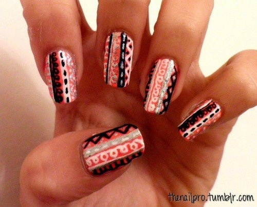 I really need to practice my art skills. Find this Pin and more on Native  American Nails ... - 100 Best Native American Nails Images On Pinterest American