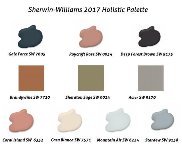 106 best images about color palettes on pinterest paint - Sherwin williams exterior paint colors 2017 ...