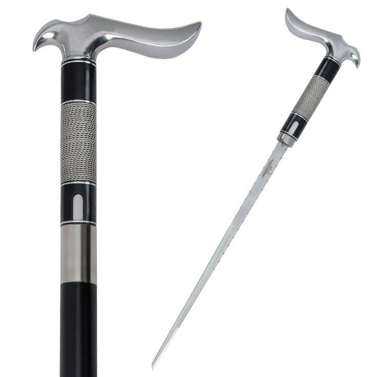 Gil Hibben Custom Hook Sword Cane Wire Wrap