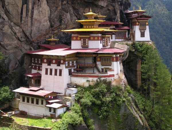 Tiger's Nest Monastery, Bhutan - Top 15 Most Beautiful Buildings Around The World
