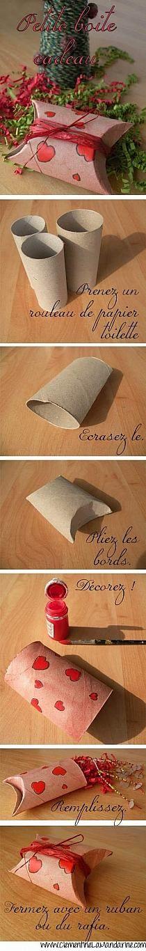 Encore une autre utilisation du rouleau de papier toilette ! ;-)