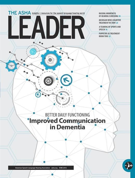 Check out our June issue! #audpeeps #slpeeps