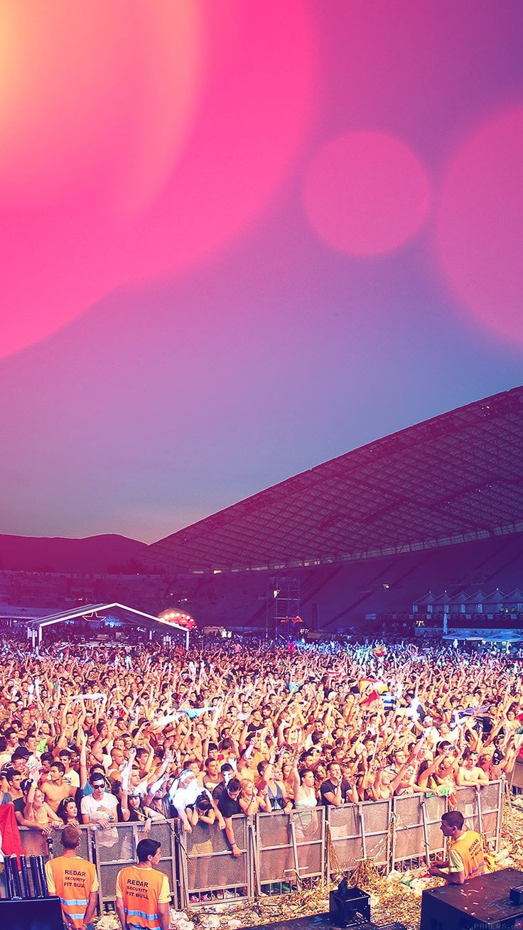ULTRA EUROPE CONCERT CITY PARTY NIGHT FLARE WALLPAPER HD IPHONE