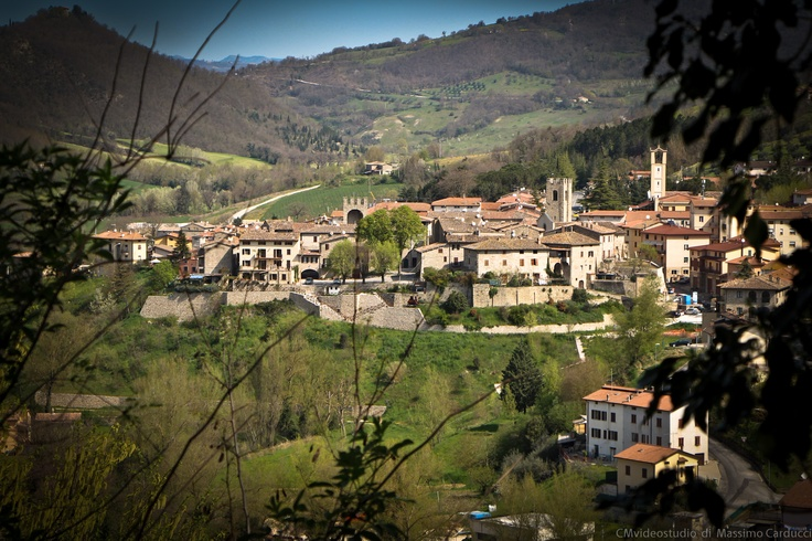 Landscape of typical umbrian town