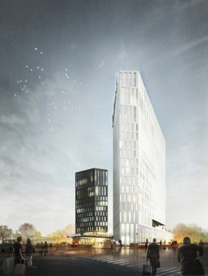 Competitive Project of the Radisson Blu Moscow Riverside Hotel&SPA Hotel Complex. First Place Award