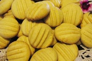 Vlakoekies (Custard Cookies