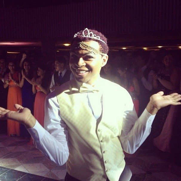 Nasir Fleming, an out gay student at Danbury High School in Connecticut,  took home the title of prom queen this past weekend.