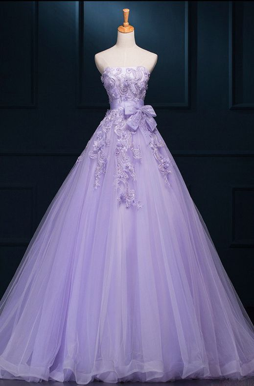 Newest Lavender Ball Gown Prom Dresses,Quinceanera Dresses,Off the shoulder dress
