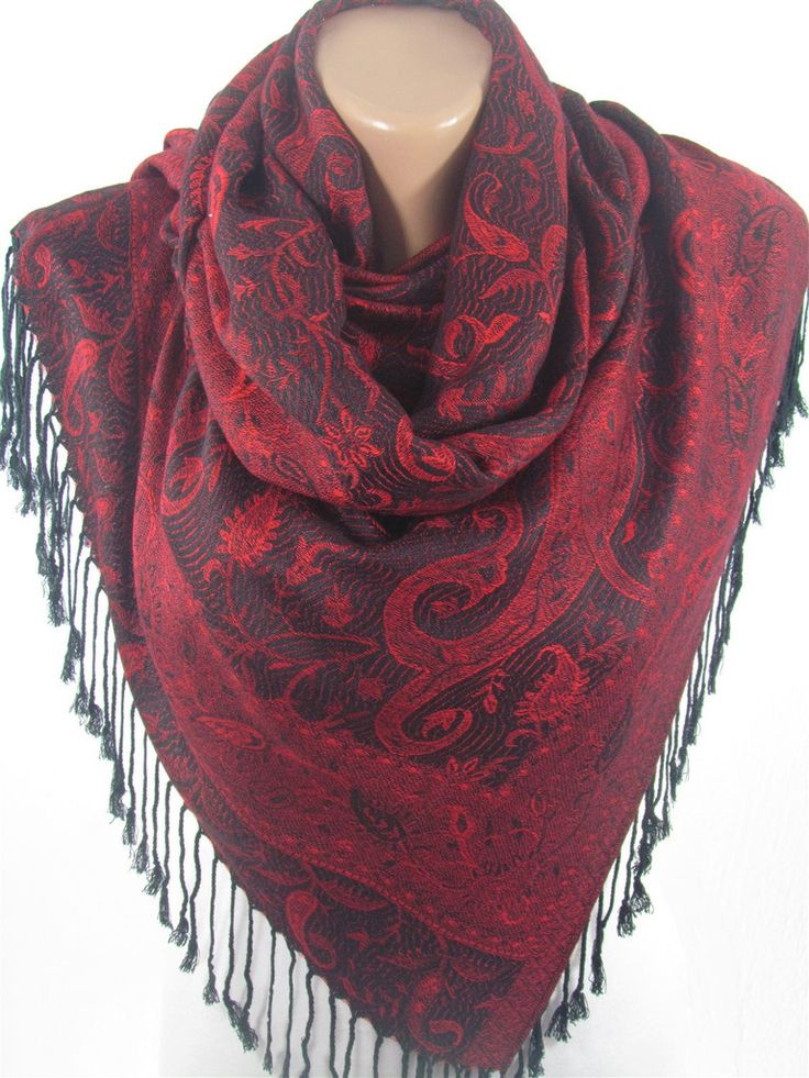 Pashmina Scarf Shawl Winter Scarf Women Fashion Accessories  www.scarfclub.net