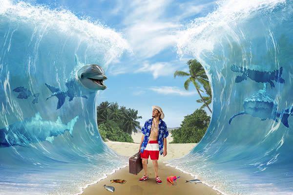"Create a Surreal ""Parting of the Sea"" Photo Manipulation - Tuts+ Design & Illustration Tutorial"