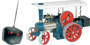 Wilesco D495 Steam Traction Engine with RC control