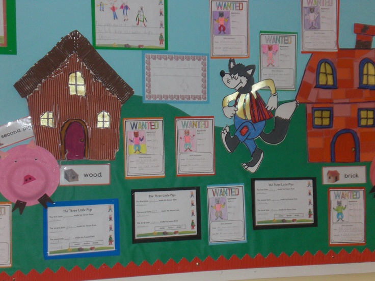 The three little pigs using worksheets from sparklebox & primarytreasurechest