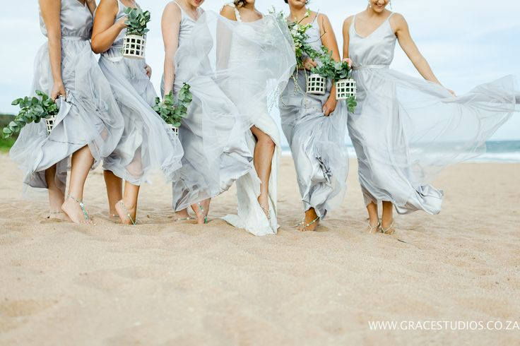 Teal Blue Turquoise Beach Themed wedding, Bridesmaids dresses, grey, South African Beach wedding   http://www.absoluteperfection.co.za/#!CHANTELLE-AND-RJS-ROMANTIC-INTIMATE-BEACH-WEDDING/c1jar/57ad8b610cf2d58e4d0423e6