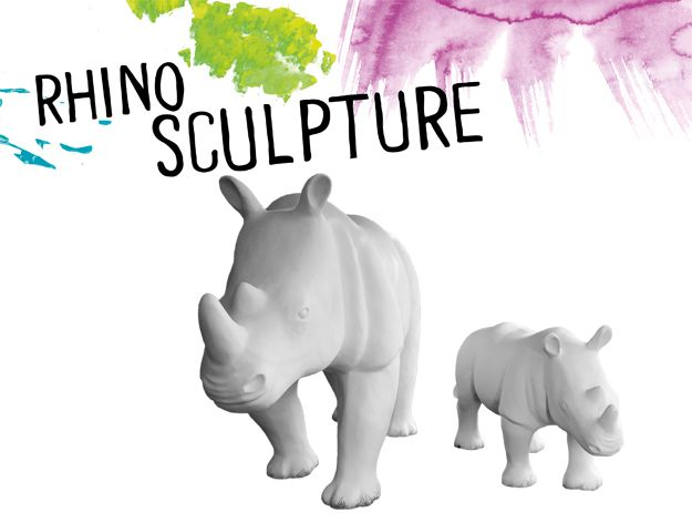 Taronga Wild! Rhinos - Whatever your chosen art form you're invited to submit your work for the opportunity of a life time – to get creative on a life-sized Rhino sculpture.