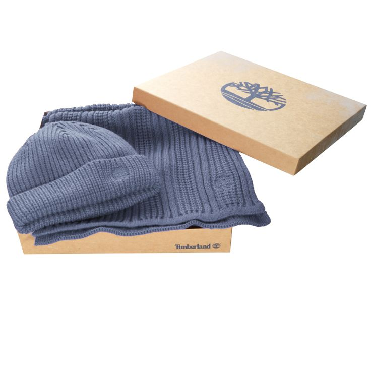 Men's Beanie/Scarf Gift Set #timberland