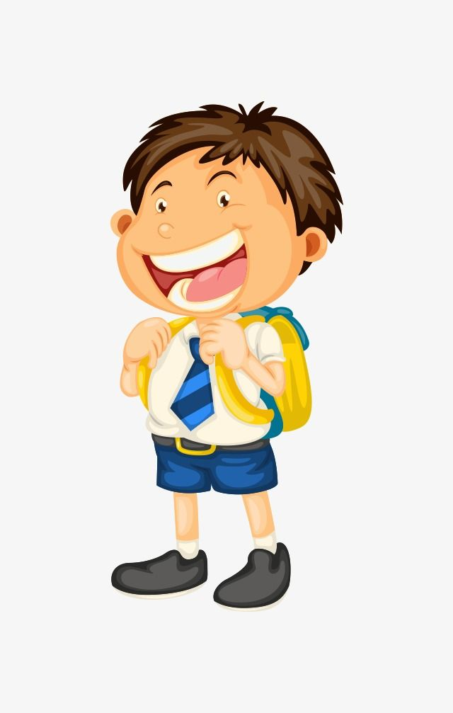 Student Student Clipart Cartoon Student Cartoon Characters Png