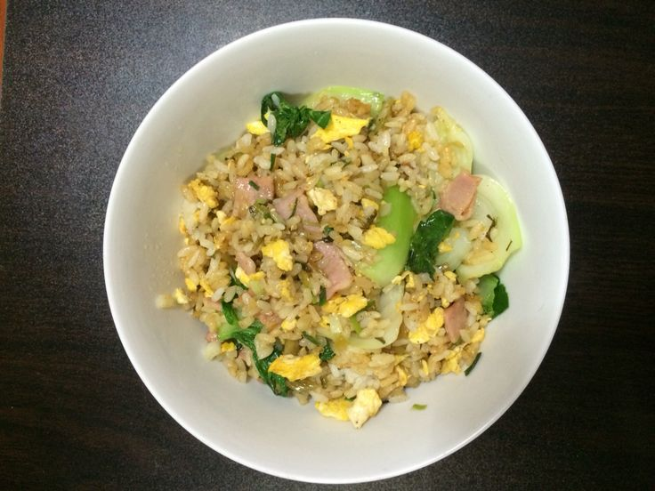 My own fried rice recipee, with inspiration from a great Chinese fried rice chef.