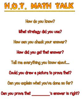 critical thinking skills questions in mathematics Good questions for math teaching ‐ why ask them and what to ask by peter sullivan and pat lilburn ‐designed for teachers, but a great resource for parents, as well read well, think well – build your child's reading, comprehension, and critical thinking skills by hal w lanse, phd.