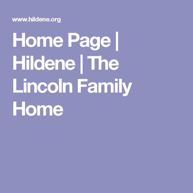 Home Page | Hildene | The Lincoln Family Home