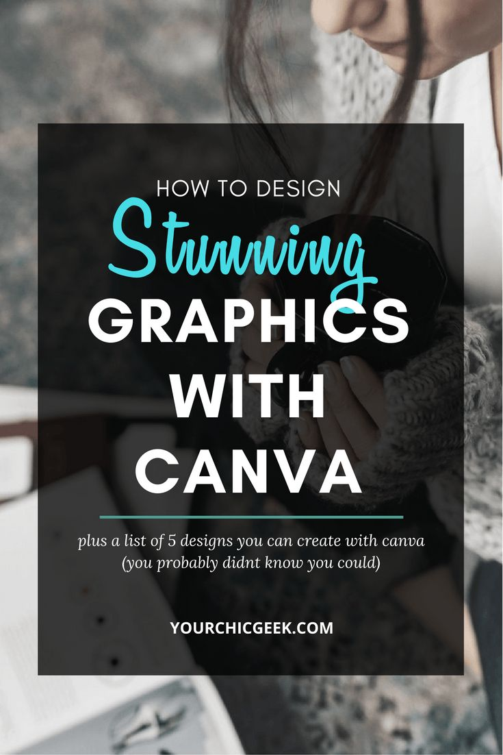 Learn How to Design Stunning Graphics with Canva (for FREE) ---> Check out the post here