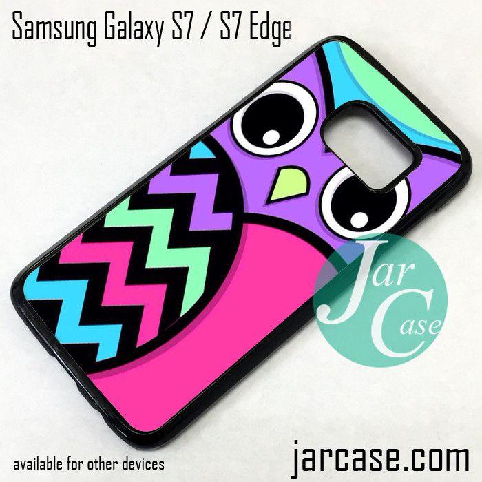 Cute Owl Phone Case for Samsung Galaxy S7 & S7 Edge