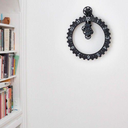 Reloj De Pared Invotis Negro $ 330.900
