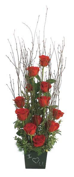 valentine flowers 405-634-2212 Cowan's Rose Petal Florist