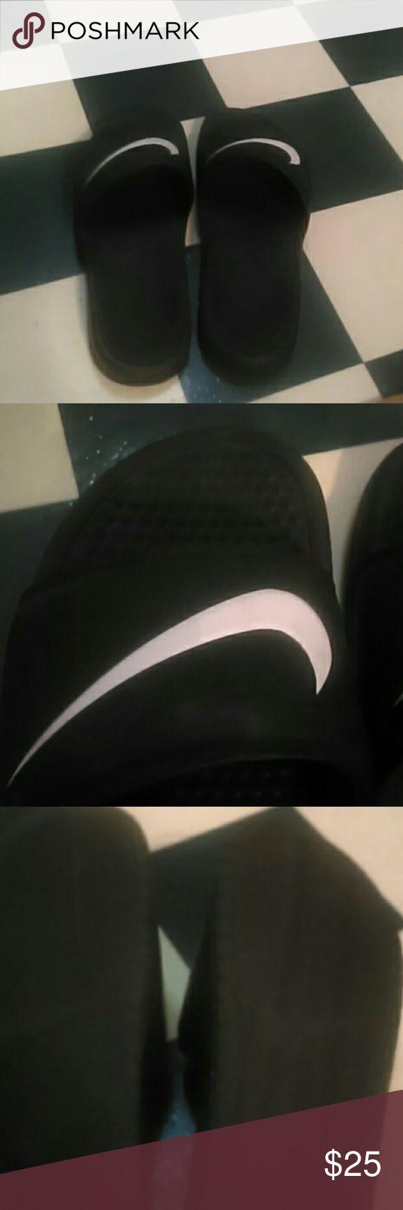 Men's Nike Sandals Men's size 9 Nike black sandals.like new condition.great shape. Shoes Sandals & Flip-Flops