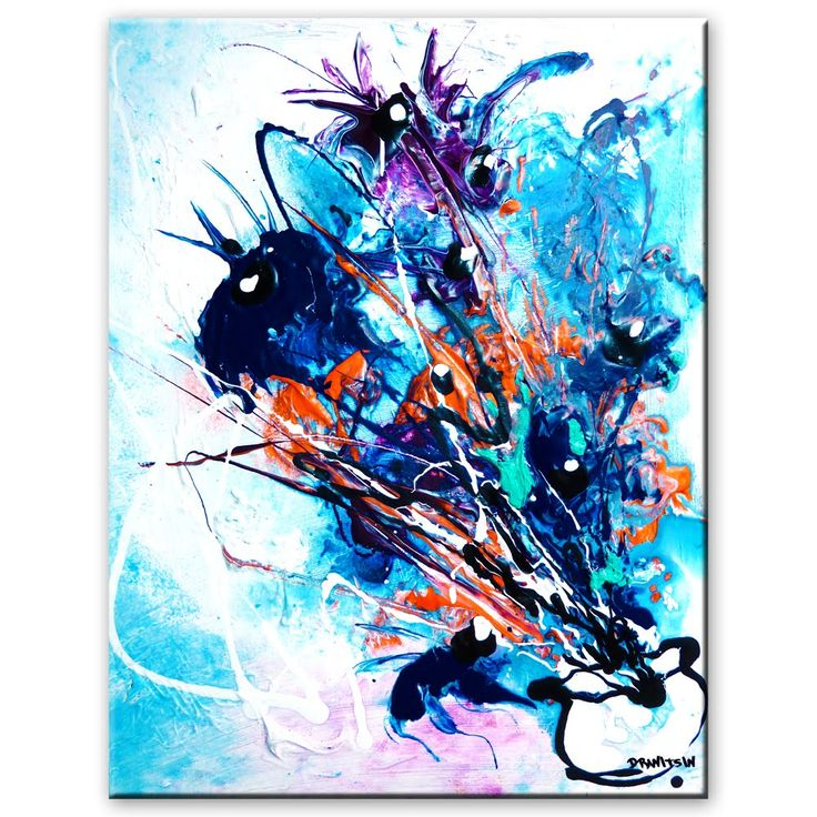 62 best abstract paintings images on pinterest abstract for Abstract watercolor painting tutorial