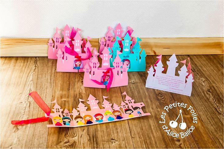 carton invitation princesse | Scrapbooking invitation anniversaire, Anniversaire princesse ...