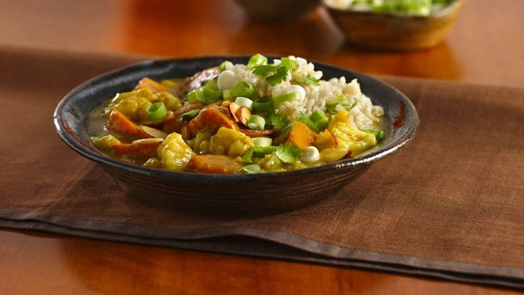 Enjoy Indian cuisine? This flavorful vegetarian curry dish is a simple-to-make supper for six.