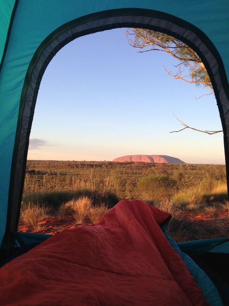 Free camping Uluru / Ayers Rock