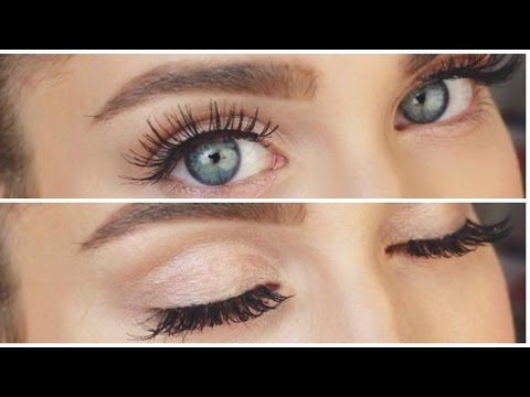 HOW TO: WIMPERN KLEBEN! ♡ | BELLA - YouTube