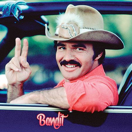 Burt Reynolds and his moustache want to say hello